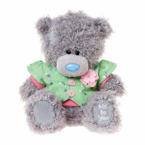Osito Me To You - Tatty Teddy Vestido Con Abrigo 15 Cm