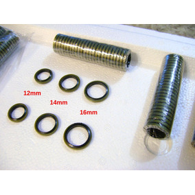 Junta Anel Bujão Cárter Óleo Motor 12, 14 E 16mm Valor 5 Und