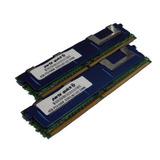 8gb Kit 2 X 4gb Ddr2 Servidor Actualización De Memoria Para
