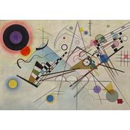 Poster Foto Hd W. Kandinsky 60x90cmo Obra Composition 8