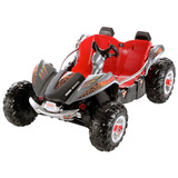 Carro Montable Fisher-price Power Wheels Gris