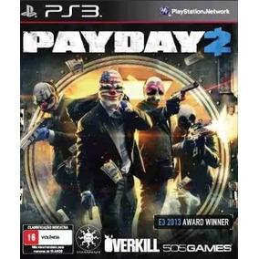 Payday 2 Ps3 Psn Envio Ainda Hoje