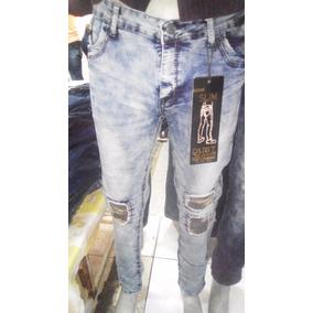 Pantalon De Caballero Jean Dusht En Strechs