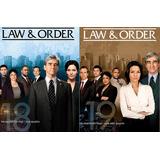 Lei E Ordem - 18ª E 19ª Temporadas Legendadas - [16 Dvds]