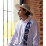Camisa Bordado Lateral Textil Bordado, Aripo.