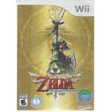 The Legend Of Zelda Skyward Sword Wii Nuevo Sellado Fisico