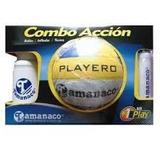Combo D Voleibol Set Tamanaco Balón + Inflador Termo Cooler