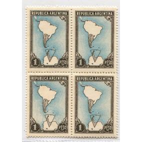 Argentina Gj 876a Variedad Marco Negro Estampilla Mint U$200