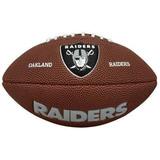 Bola Futebol Americano Wilson Oakland Raiders - Com Desconto