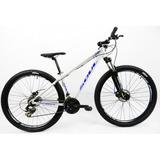 Bicicleta 29 Soul Sl70 21v Prata Pérola/azul (quadro 15)