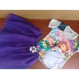 Conjunto Falda+blusa Princesa Sofia Talla 10-12 - Ig