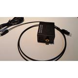 Adaptador Convertidor Digital Analogo Optico Rca Audio