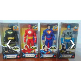 Muñeco Flash, Robin, Batman Con Armadura,batman, Superman...