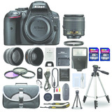 Super Kit Fotografico- Camara Nikon D5300 18-55 + Accesorio