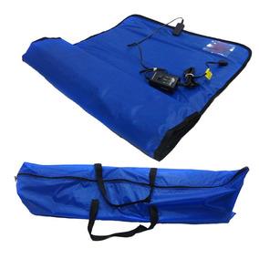 Manta Termica Estetica Profissional Corporal Azul Estek 110v