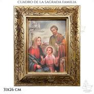 Cuadro Sagrada Familia 31x26 Cm