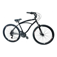 Bicicleta Caiçara Beach Aro 29 C/ Freio A Disco E Suspensão
