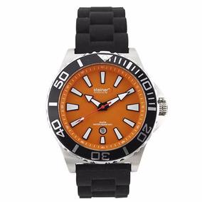 Reloj Analógico Steiner 45mm Naranja St22418d