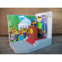 Tm.simpsons Town Hall Diorama