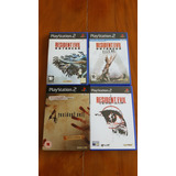 Coleção Ps2 8 Jogos Resident Evil Original ( Pal ) Europeu