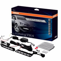 Kit Rodagem Diurna Osram Ledriving Px-4 Led Drl