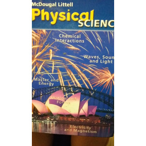 Libro Physical Science Mcdougal Litell Pasta Dura Excelente!