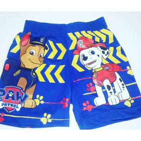 Shorts Para Niños De Patrulla Canina Paw Patrol Pao Patrol