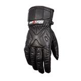 Guantes Protección Cuero Moto Motociclista Sequoia Carbon Xs