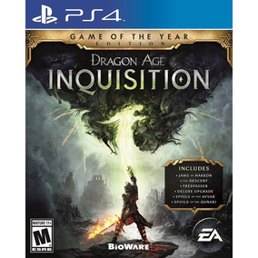 Dragon Age Inquisition Goty Ps4 Playstation 4 Stock Fijo
