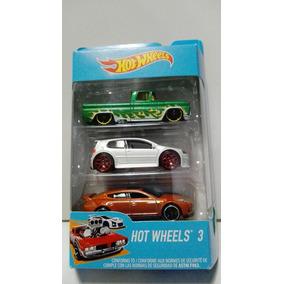 Chevy Custom 62, Golf Hot Wheels Pack X 3 Unidades !!!