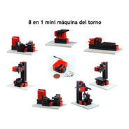 Mini Torno 8 En 1  20,000 Rpm 24w Madera, Metal Blando
