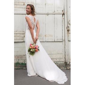Vestidos de novias sencillos largos
