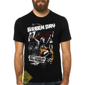 Camiseta Camisa Banda Green Day Grafite American Idiot