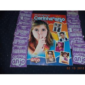 Álbum De Figurinhas Carinha De Anjo E Anime C/ 10 Pacotinhos