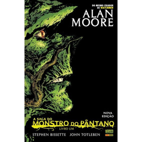 Hq A Saga Do Monstro Do Pântano - Livro 1