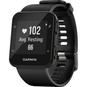 Relógio Gps Garmin Forerunner 35 Preto Smartwatch Medição