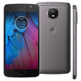 Capa + Pel. Vidro Motorola Moto G5s Xt1792 5.2 Frete Grátis