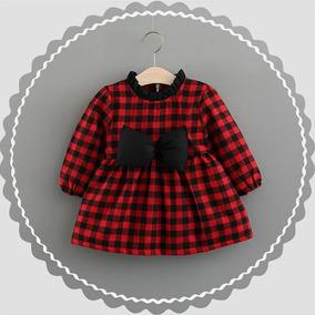 Hermoso Vestido De Invierno Para Bebé / Niña