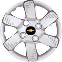 Jogo Calota Aro 13 Chevrolet Celta Corsa Spirit + Emblema Gm