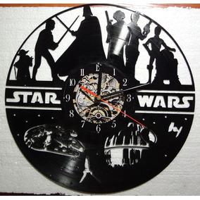 Reloj Star Wars, Darth Vader, Halcon Milenario, Disco Vinilo