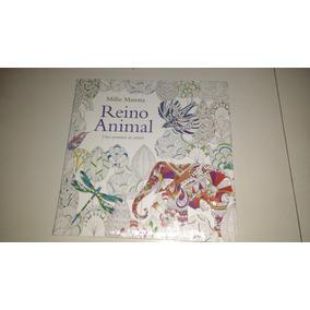 Livro De Colorir - Reino Animal