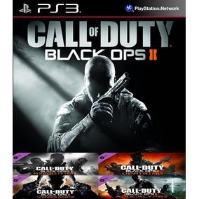 Call Of Duty Black Ops 2 + Todas As Dlc Ps3 Psn