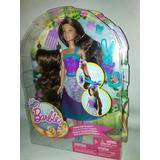 Muñeca Barbie Peinados Mágicos