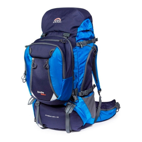 Mochila Doite Outdoor Athena 60 + 15 Lts Daypack Camping