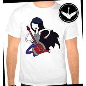 Camiseta Hora De Aventura Marceline Infantil Ou Adulto