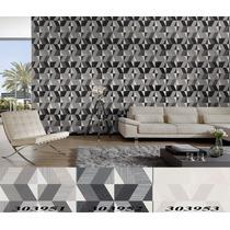 Tapiz Decorativo Importado Metropolis Con Textura Wallpapper
