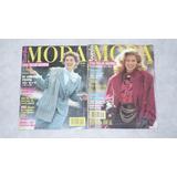 Revista Burda Tallas Mayores Con Moldes Años 1990 Al 99