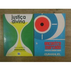 Justiça Divina /encontro Marcado Chico Xavier Lote 2 Livros