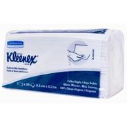 Papel Toalha Interfolha 21,5x22,2 2 Dobras Kleenex 1000 Folh