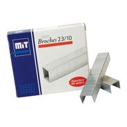 Broches Mit 23 / 10 Para Abrochadoras X 1000